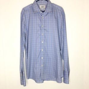 Charles Tyrwhitt Non Iron Slim Fit Dress Shirt 18